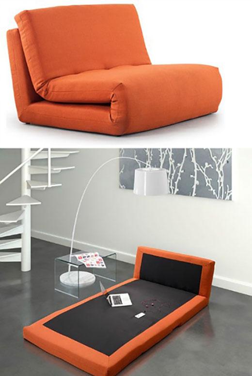 Những mẫu ghế kiêm giường ngủ tiện ích
