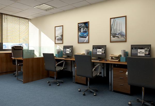 Thiết kế văn phòng đẹp với diện tích khiêm tốn